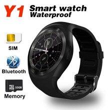 Newest Y1 Smart Watch Bluetooth Mobile phone Smartwatch Sports Waterproof Sleep Monitor Tracker Pedometer Camera SIM TF GT08 A1