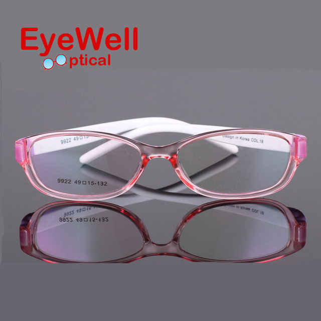 2016 New kids optical frames Soft and light Children's glasses Radiation Protection Eyeglasses Spectacle Frame 9922