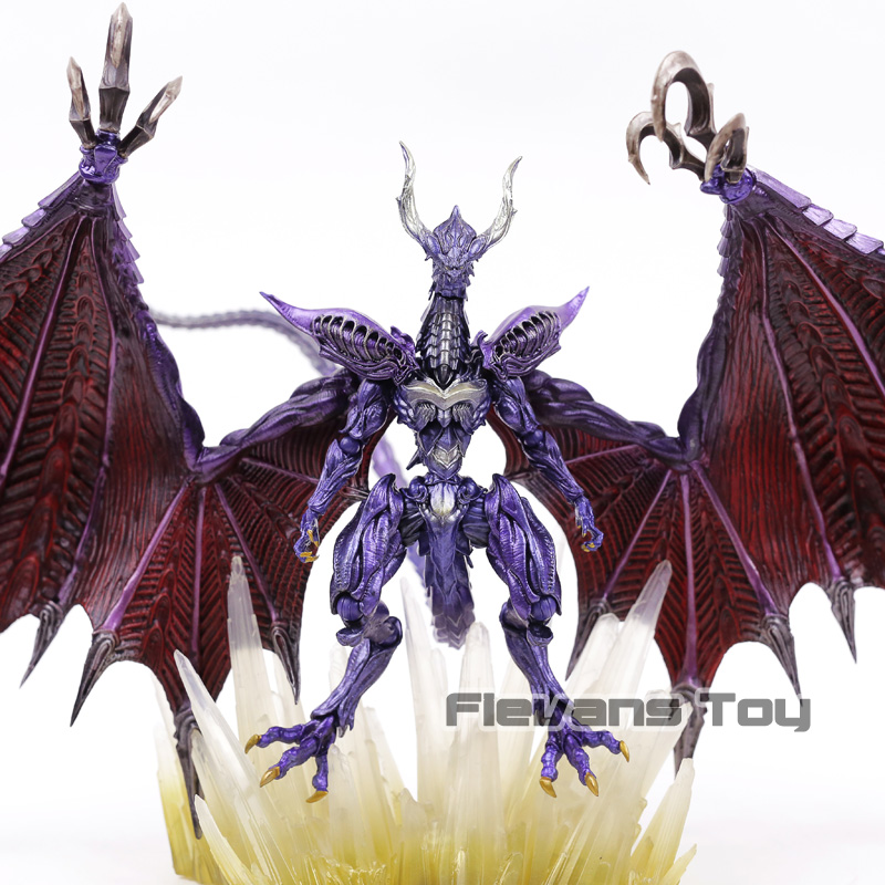 цена Square Enix Final Fantasy Creatures Bring Arts Bahamut Action Figure Collectible Model Toy