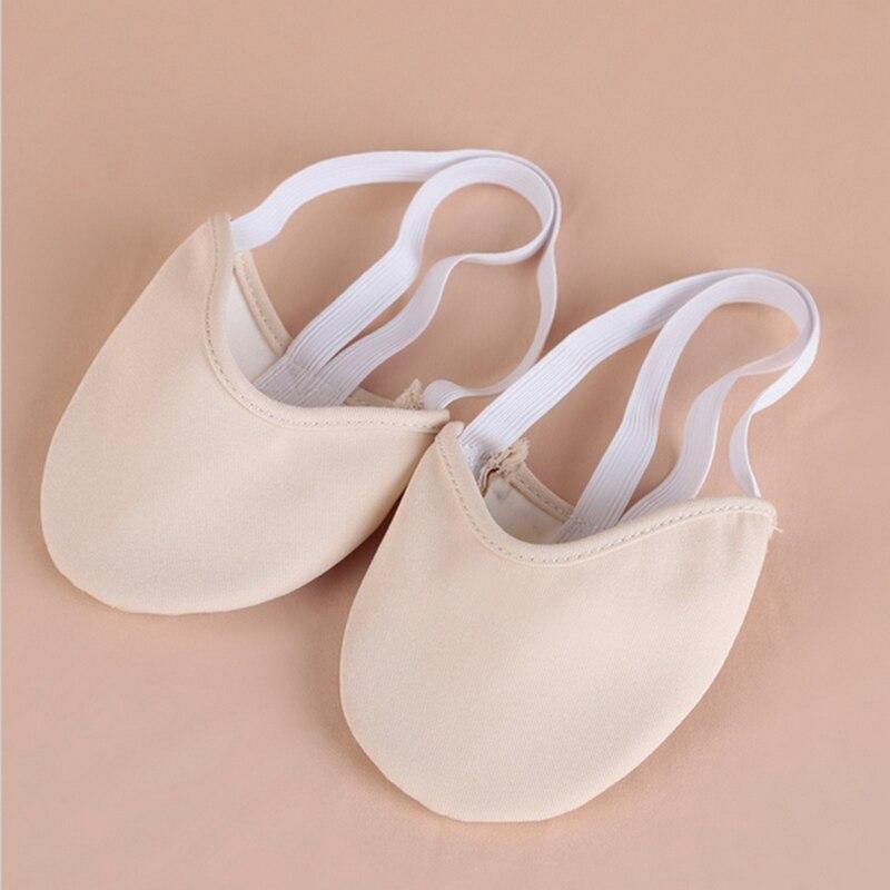 Professional Dancewear Women Ballet Flats Belly Dance Training Shoes Pads Foot Thong