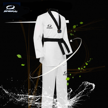 2016 Child Kids TKD Cotton Dobok Taekwondo font b Fitness b font Training Uniform Half Long