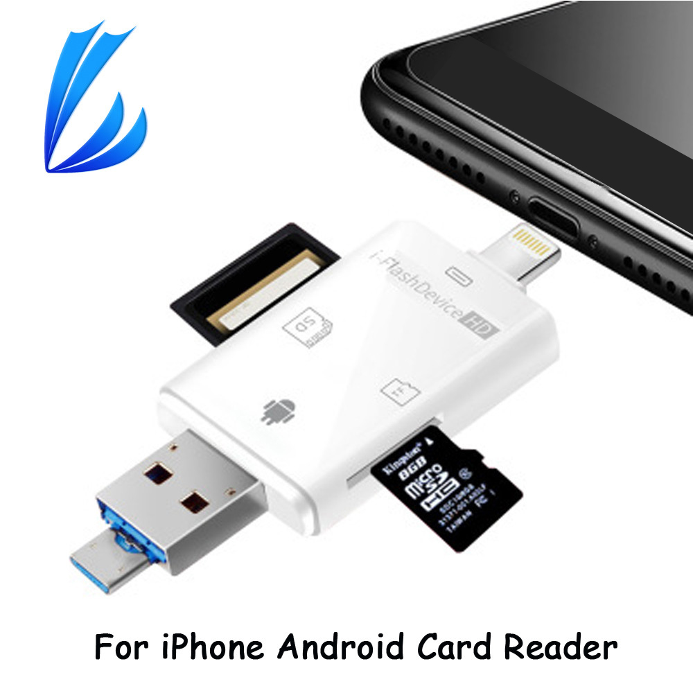 sd card reader for iphone ll trader i flash drive hd micro sd amp tf memory usb card 2757