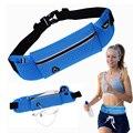 Moda 1 PCS Azul Anti-roubo Peito Magro Correndo Celular Fanny Saco Da Cintura Saco de Desporto Running