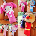 Child Car Seat Belt Shoulder Pad PP Cotton Car Seat Belt Cover For Kids Cartoon Hello Kitty Accessories Safety Belt Pillow