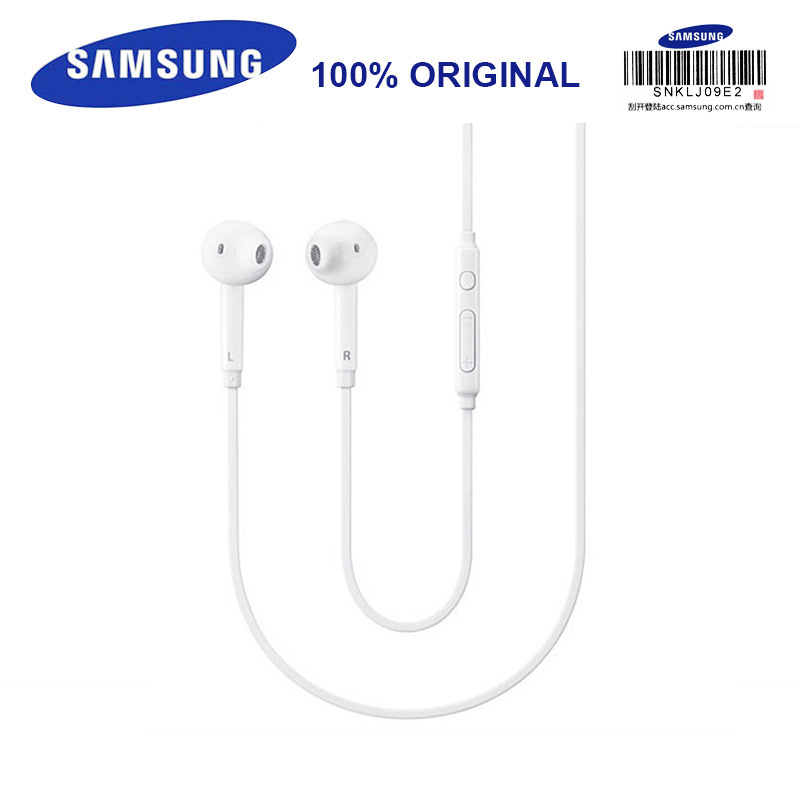 цена на SAMSUNG EO-EG920LWGH59 Wired 3.5mm Headsets with Mic 1.2m In-ear Stereo Sport Earphones for Samsung S8 S8Edge S9 with Retail Box