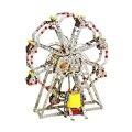 929Pcs Metal Music Electric Piano Sound Lights Rotating Ferris Wheel DIY Metal Blocks Construction Set For Kids Toys