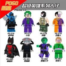PG8018 August Newest SDCC Marvel DC Super Heroes Villains Scorpion Sandman Hobgoblin Stan Lee Blocks Toys