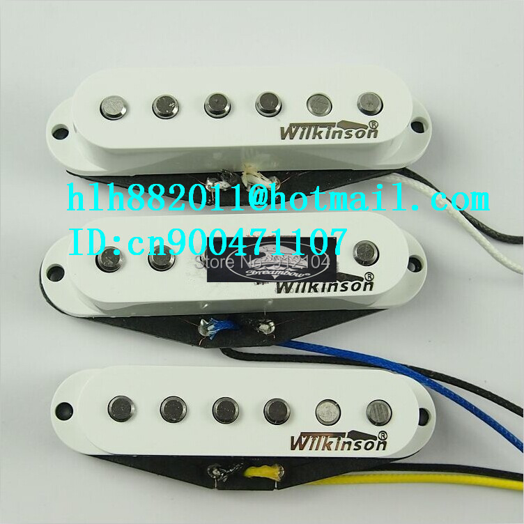 free shipping new single wave electric guitar pickup in white made in South Korea  wk-8367 free shipping new st electric guitar pickup in white 3s made in south korea art 31