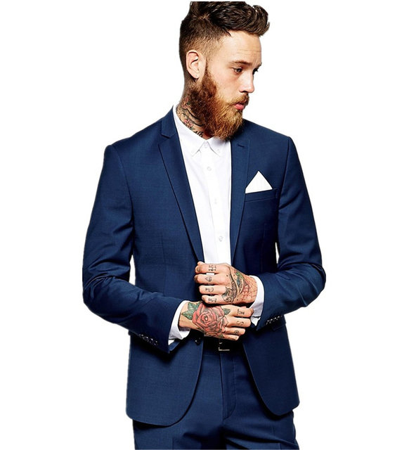 Aliexpress.com : Buy New Arrival Mens Suits Groomsmen Notch Lapel ...