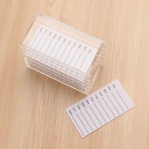 Image 2 - 속눈썹 연장 도구 속눈썹 속눈썹 연장 보관 상자 저장