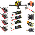 EMAX RS2205S 2300KV motor FVT little bee 20AS 30AS ESC runcam swift camera F3 flight controller RAMMUS200 frame fatshark antenna