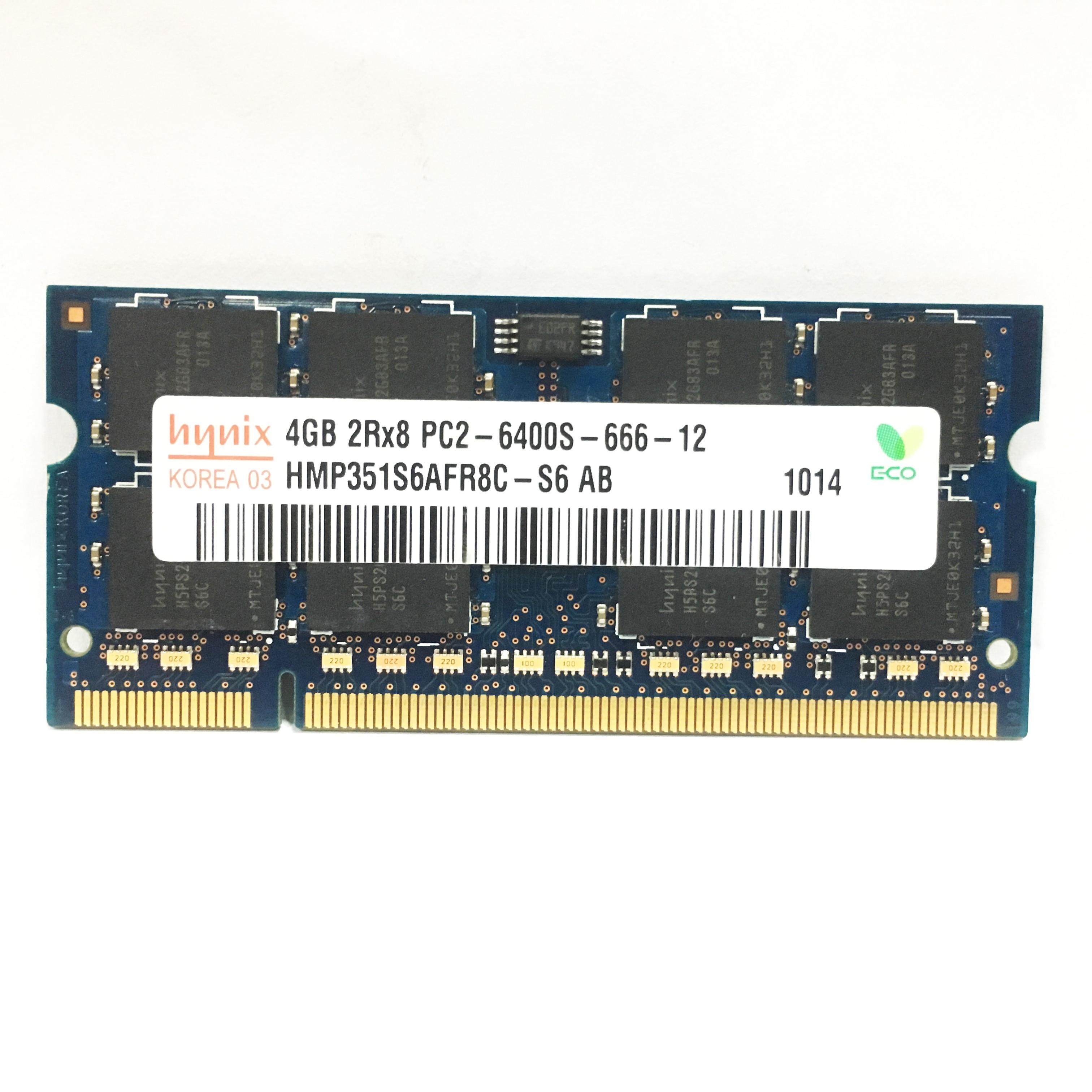 1G 1G  2G 4GB 2GB PC2 6400 5300  DDR2 667MHz 800MHz Laptop RAM notebook  memory RAM Use original /hynix chipset 6