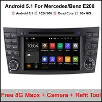 Android 5 1 1 Car DVD Player GPS For Mercedes Benz E200 E220 E240 E270 E280