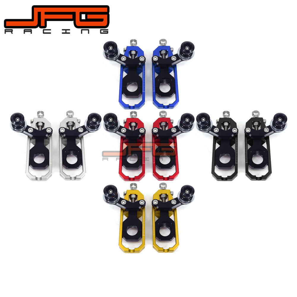 Chain Adjusters Tensioners With Spool Fit for KAWASAKI ZX-10R ZX10R ZX 10R 2008 2009 2010 Motorcycle