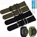 Garmin Fenix 3  Nylon 26mm Watchband  Luxury Nylon Strap Watch Replacement Band For Garmin Fenix 3 with tools free shipping
