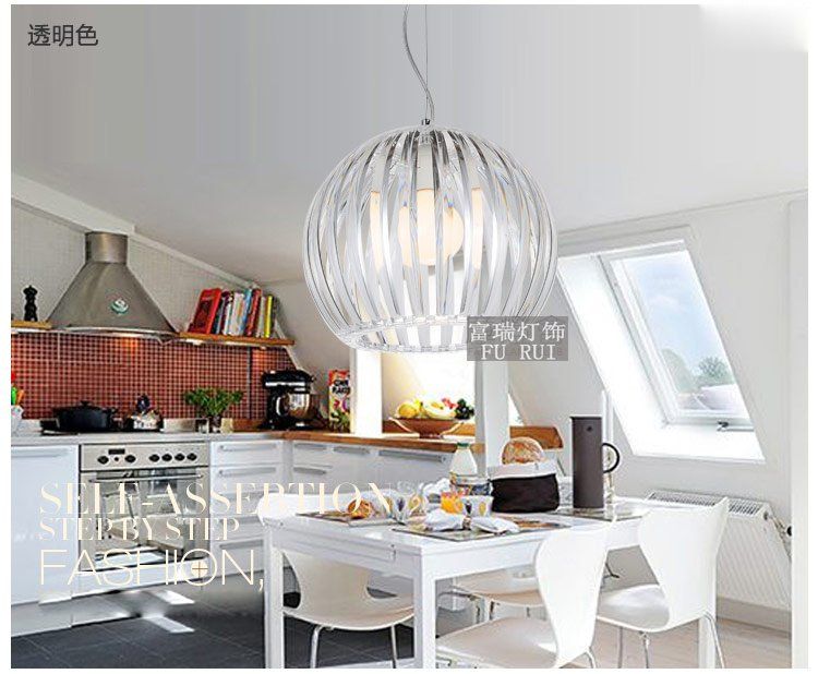 [Nov]Modern Fashion Acryl dining room pendant light ball light Fast Free ship FG815 купить