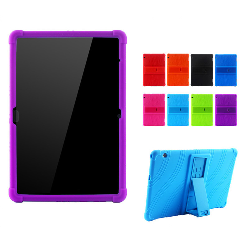Slim Kids Shockproof Coque Soft Rubber Cover Stand Silicon Funda Case For Huawei Mediapad T5 10 AGS2-W09/L09/L03/W19 Tablet