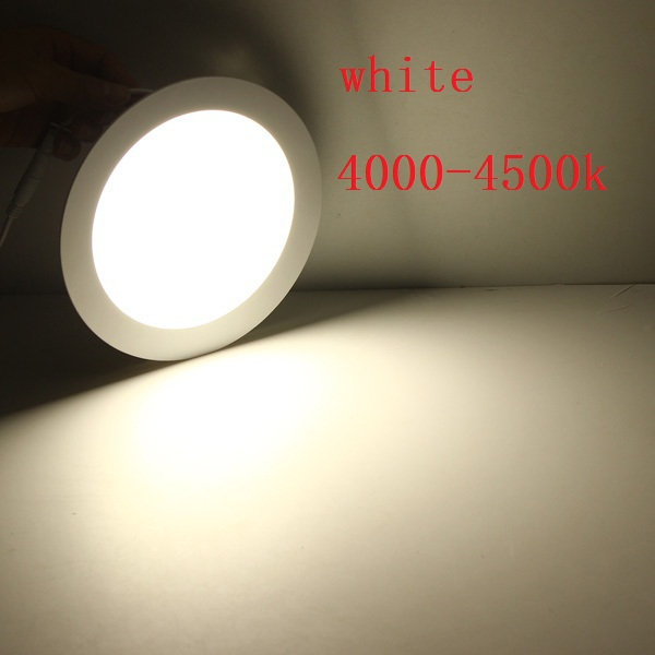 de Teto AC85-265V branco Branco Quente Branco fresco 20 Pçs lote