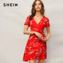 d606344f33ea8 Tropical Print Dress Promotion-Shop for Promotional Tropical Print ...