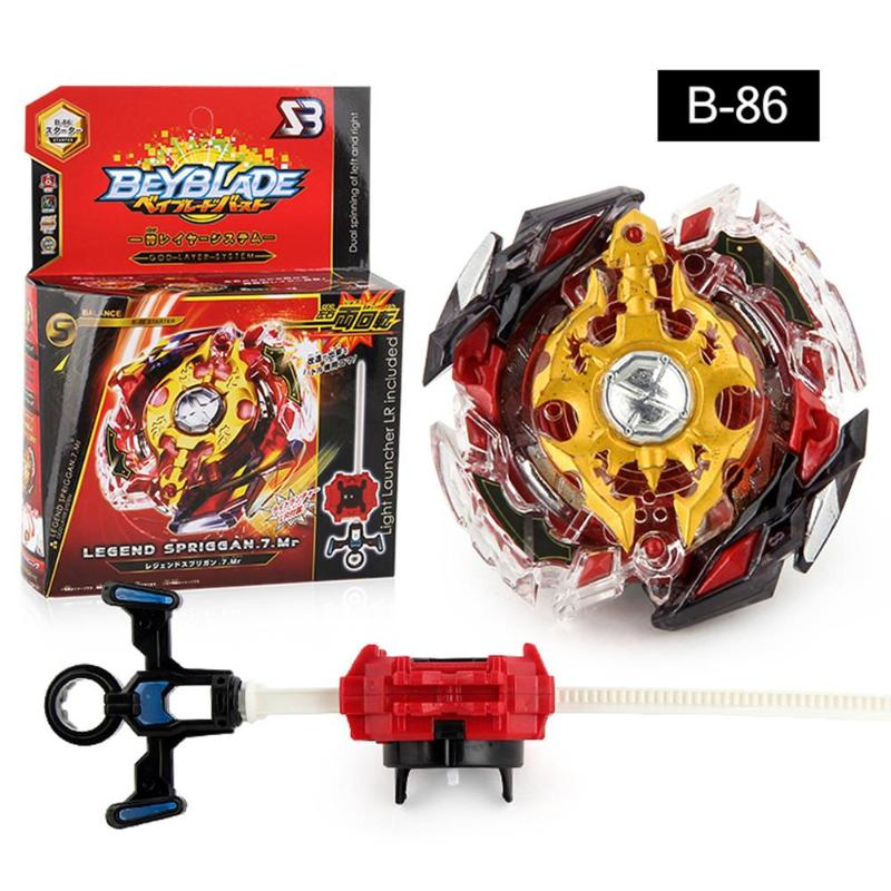 Metal Alloy Beyblade Burst Gyro Fighting Gyroscope With Beyblade Launcher Spinning Toys Kids Children Bey Blade Toys Gift