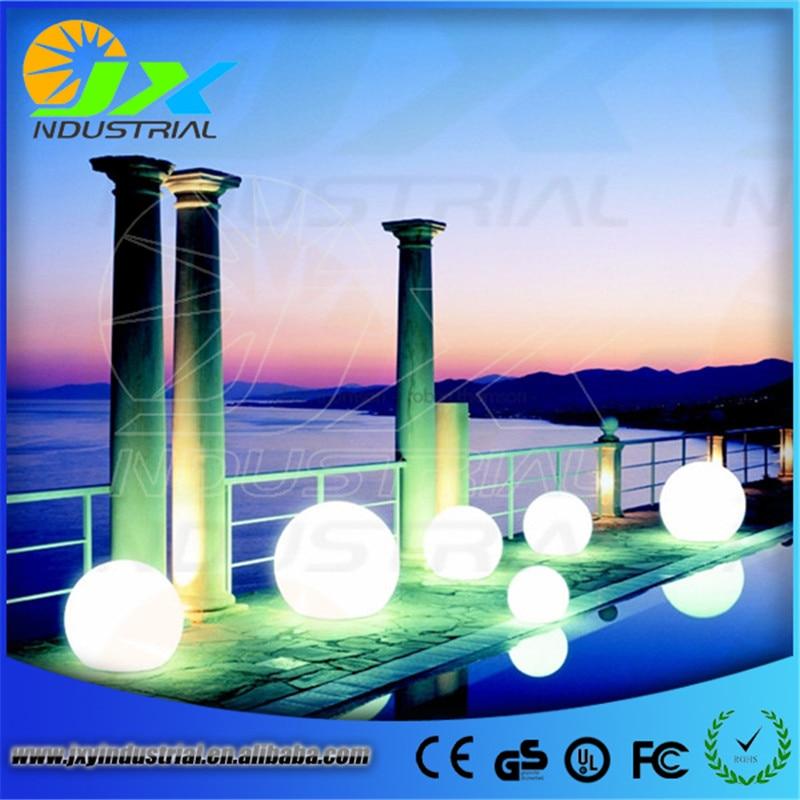 ФОТО LED waterproof Floating balls light/ LED outdoor garden balls lamp12cm/15cm/20cm/25cm/30cm/35cm/40cm/50cm/60cm/80cm