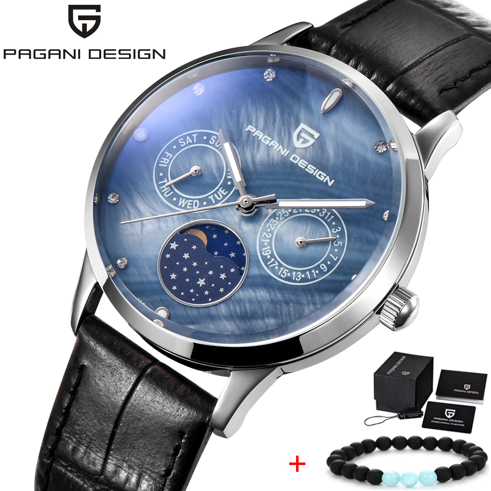 PAGANI DESIGN Top Brand Lady Fashion Quartz Watch Women Casual Waterproof Shell Dial Luxury Dress Watches Relogio Feminino 2018 купить в Москве 2019
