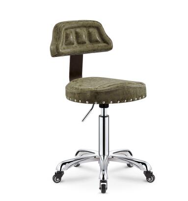 Explosion-proof Version Lift Stool Beauty Stool Work Stool Master Chair Hairdressing Chair Back Stool To Have Both The Quality Of Tenacity And Hardness Furniture Barber Chairs
