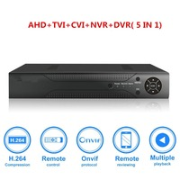 4CH 1080N CCTV DVR Hybrid 5 in 1 H.264 Surveillance Video Record System NO Hard Disk (1080P NVR+1080N AHD TVI CVI +960H Analog)