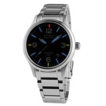 EPOCH 7009GN waterproof 100m tritium gas luminous sapphire mirror mens business automatic mechanical watch
