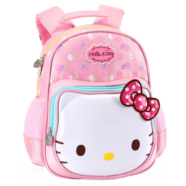 8863643154 Cute Cartoon Hello Kitty Bag Kindergarten Preschool Backpacks Baby Kids Bag  Schoolbag Children School Bags for Girls
