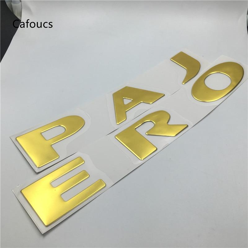 Cafoucs Big Size Car Front Bonnet Emblem Logo Badge Lettering Decal
