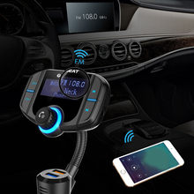 Wireless For Bluetooth Car USB Charger FM Transmitter Radio Adapter MP3 Player(China)