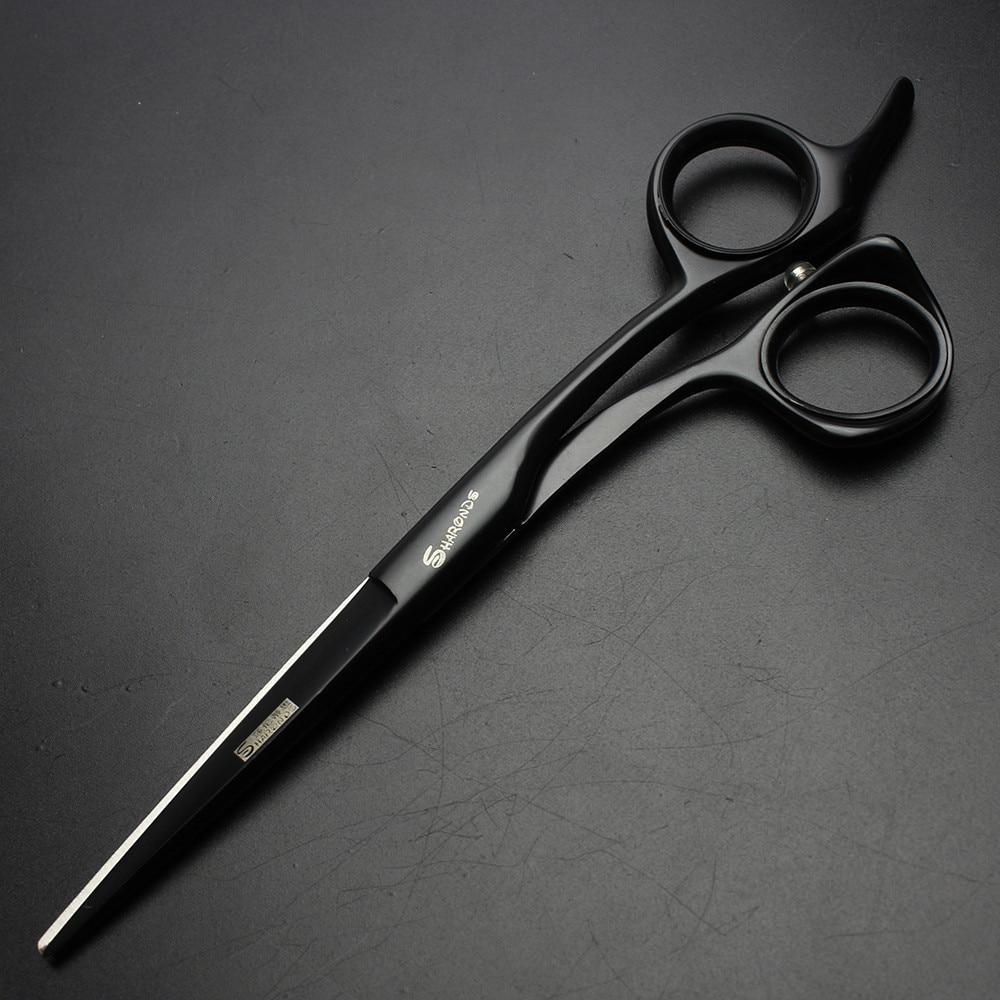 Sharonds Peluquero Profesional Tijeras de peluquero 6 pulgadas Negro - Cuidado del cabello y estilo - foto 5