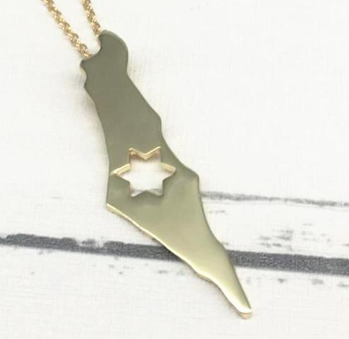 Hot sale outline israel map pendants state tiny map necklace state hot sale outline israel map pendants state tiny map necklace state maps i heart love necklaces aloadofball Gallery
