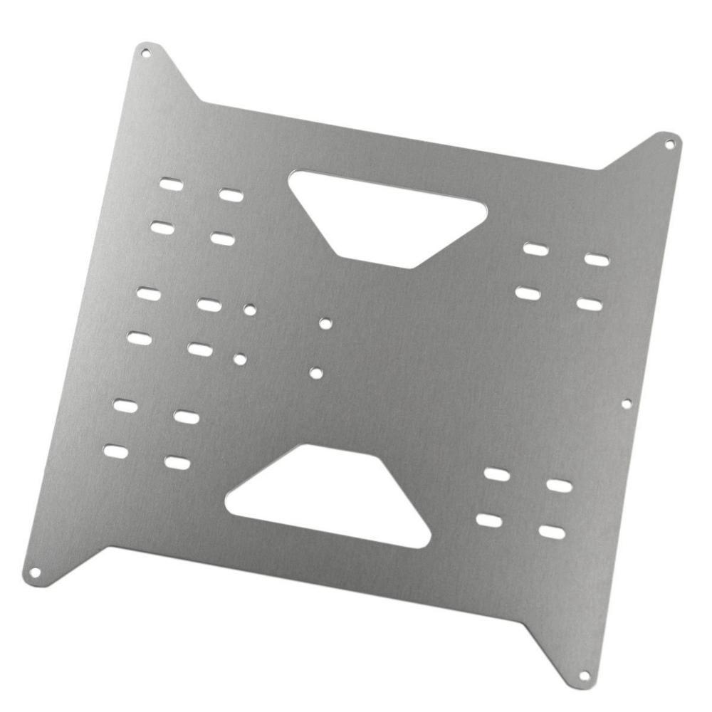 SWMAKER Upgrade Y Carriage Aluminum Plate for Wanhao Duplicator i3 /Monoprice Maker Select V1/V2/V2.1/Plus 3D printers