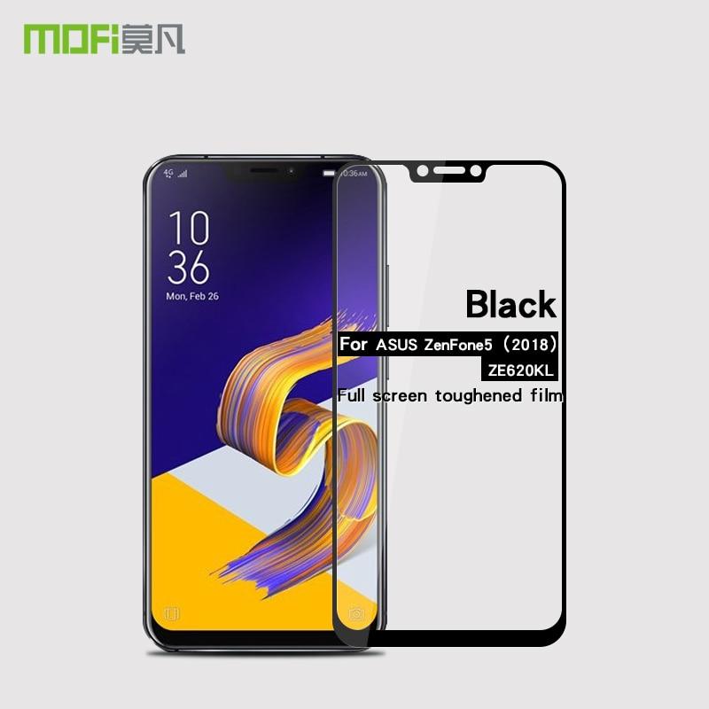 MOFi For Asus Zenfone 5 2018 ZE620KL Glass Full Cover Tempered Glass For Asus Zenfone 5 2018 ZE620KL Screen Protector