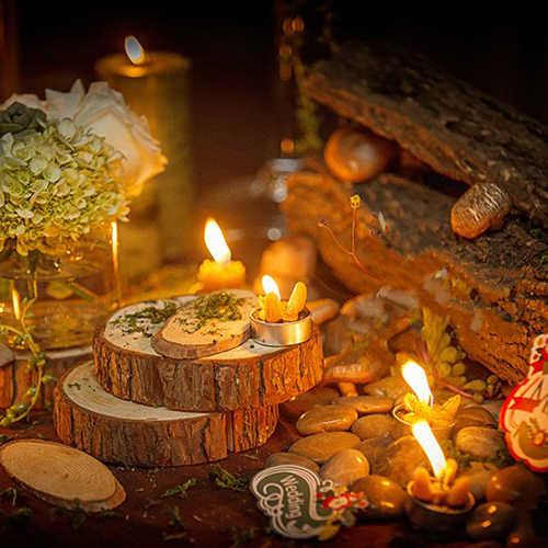 Необработанные натуральные круглые деревянные украшения для дома круги с деревом коры деревянные подставки для DIY ремесла чистая Свадебная вечеринка