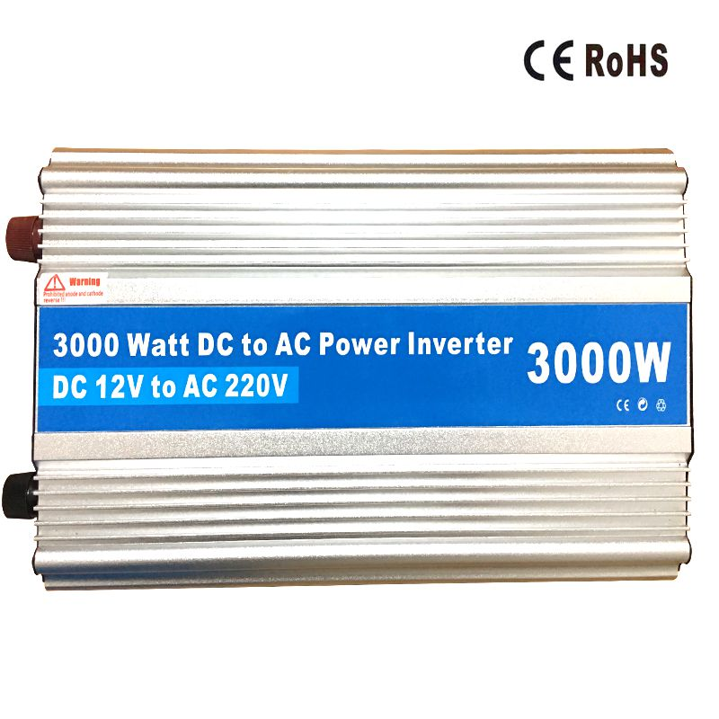 High Quality 3000W Power Inverter 12V 220V DC AC 2000W 1500 Watt Car Charger Adapter AC to DC Power Inversor converter catuo 1500 watt dc 12v to ac 220v power inverter charger converter 1000w dc 24 to ac 220 car charger adapter drop shipping