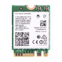 Double bande 2.4G/5 Ghz Wifi Bluetooth Wlan pour Intel 8265NGW sans fil AC 8265 NGFF 802.11ac 867 Mbps 2x2 MU MIMO WIFI BT 4.2 carte