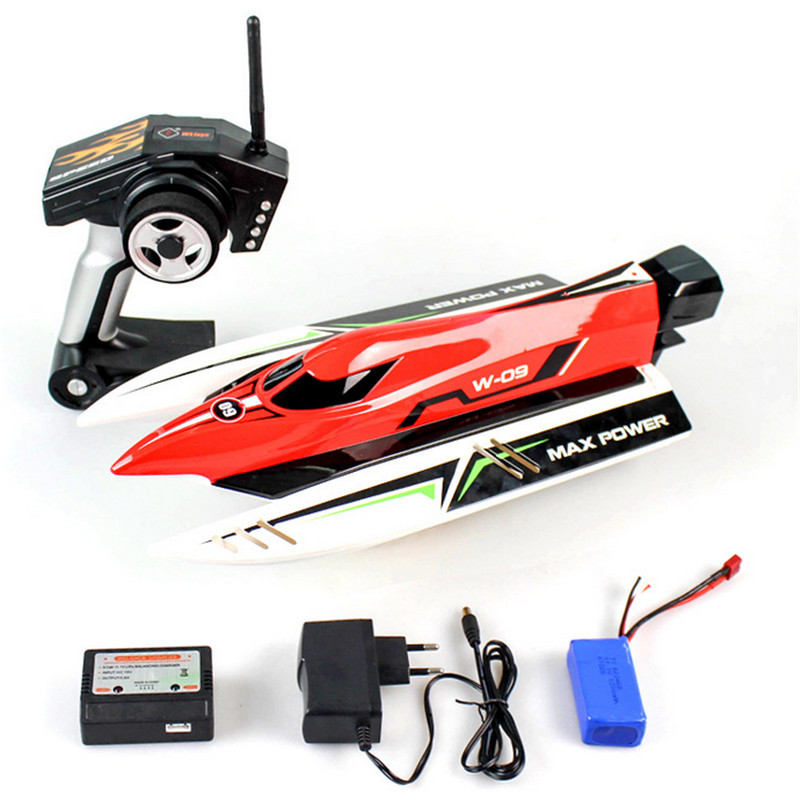 Wltoys wl915 f1 45km h rc boat for fishing brushless motor for Remote control fishing boats