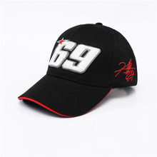 2019 New Arrival Black Hat Sport Cap Motorcycle Racing Hat MOTO GP 69 Baseball Cap Hats Men's Racing Cap Men's F1 Race Casquette(China)
