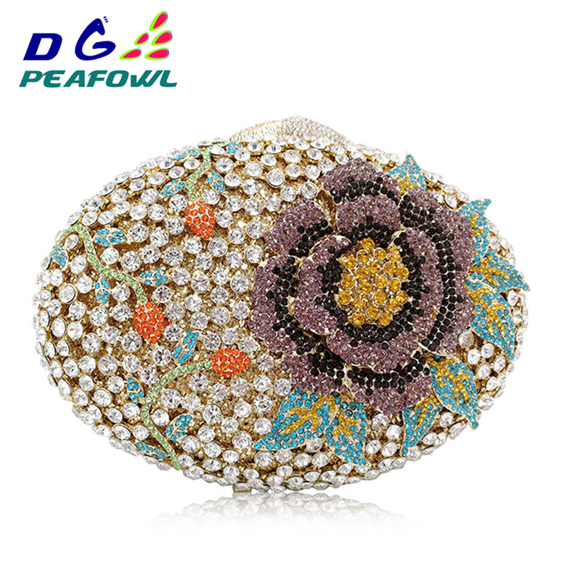 Floral Big Diamond Crystal Women Day Clutch For Mom Gift Flower Evening Bags Wedding Purse Luxury Clutches Diamond Party BagFloral Big Diamond Crystal Women Day Clutch For Mom Gift Flower Evening Bags Wedding Purse Luxury Clutches Diamond Party Bag