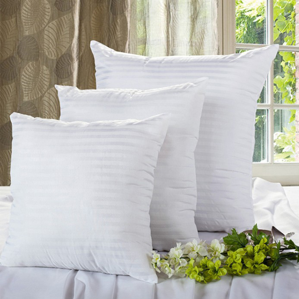 fityle Soft PP Cotton Filled Pillow Cushion Inner Pad Insert for Home Sofa Car Decor Without Pillowcase 60*60cm
