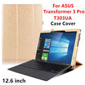 Case PU For ASUS Transformer 3 Pro Protector Smart cover Leather Tablet For asus T303UA 12.6 inch Protective Sleeve Ceses Covers