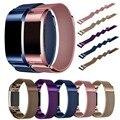 Joyozy Магнитный Миланской Петли Группа Для Fitbit заряд 2 умный браслет высокого качества браслет из нержавеющей стали для зарядки 2 группа