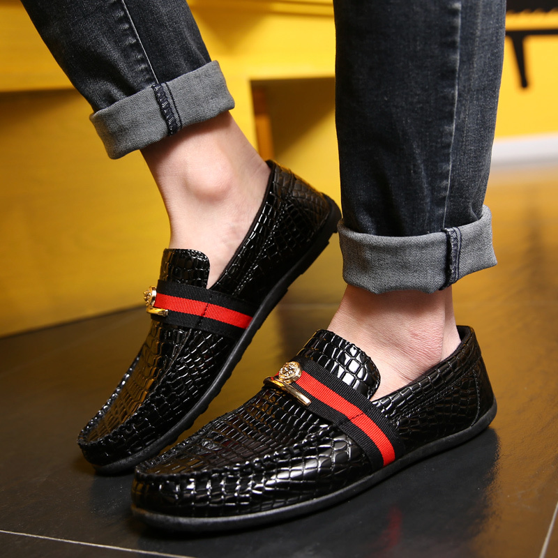 bddedb1cc05 2015 spring summer new design fashion men s drive casual shoes loafers men  shoes Fashion Sneakers Driving Shoe15-in Women s Flats from Shoes on ...
