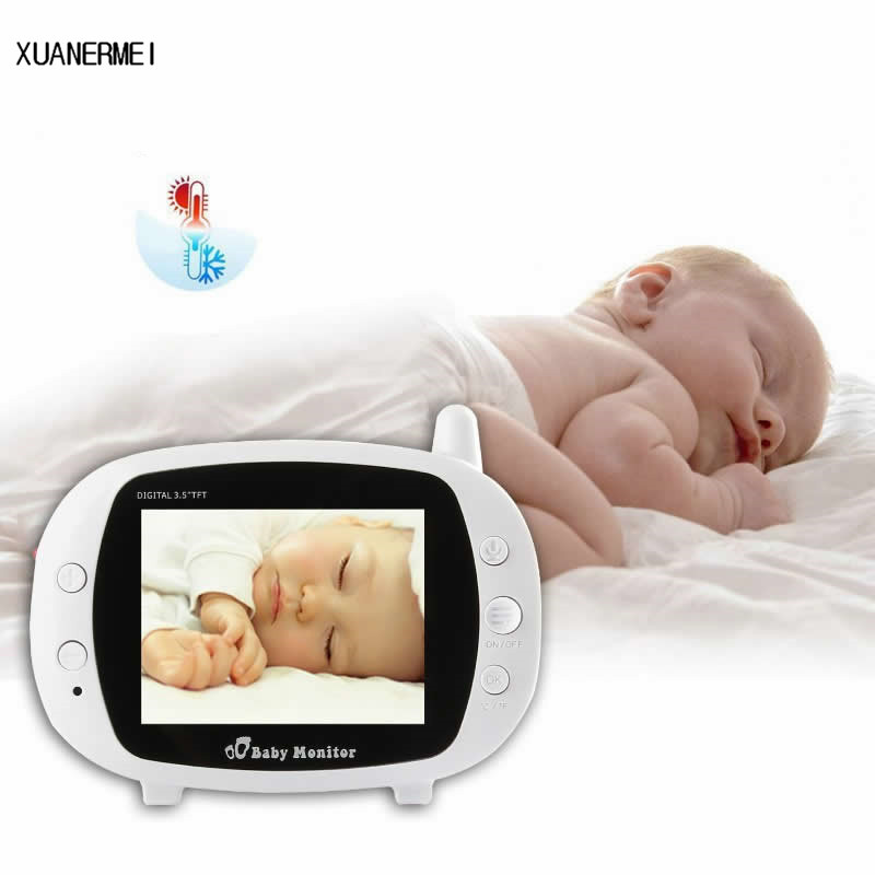 Xuanermei 3.5 Wireless Baby Radio Babysitter Digital Video Baby Monitor WiFi Two Way Intercome Security Surveillance Baby Camer