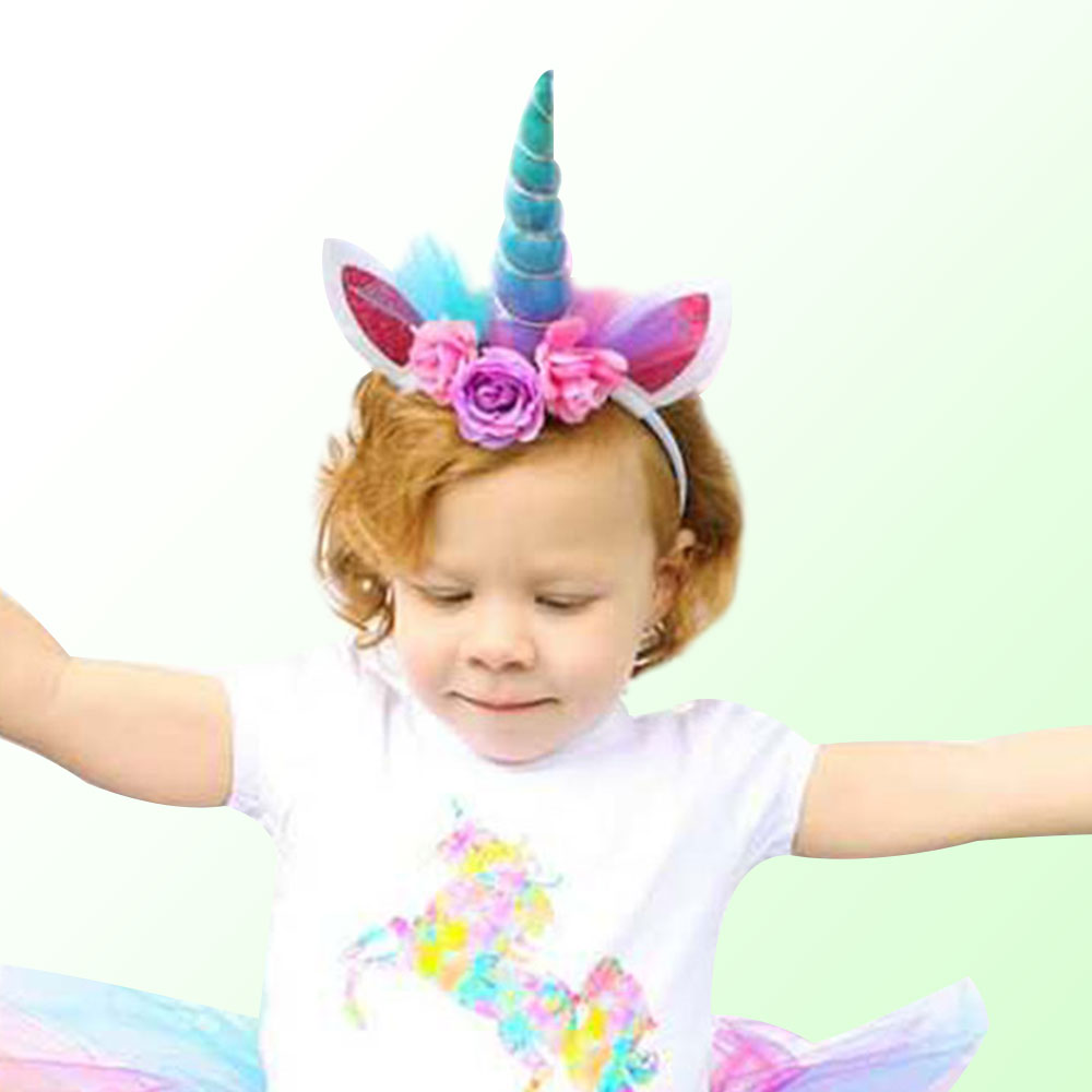 fashion horn hair headband party supplies birthday party decorations