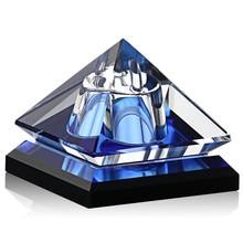 Vintage Luxor Refillable Parfum Car Perfume Bottles Crystal Empty Bottle for Decoration 6 color