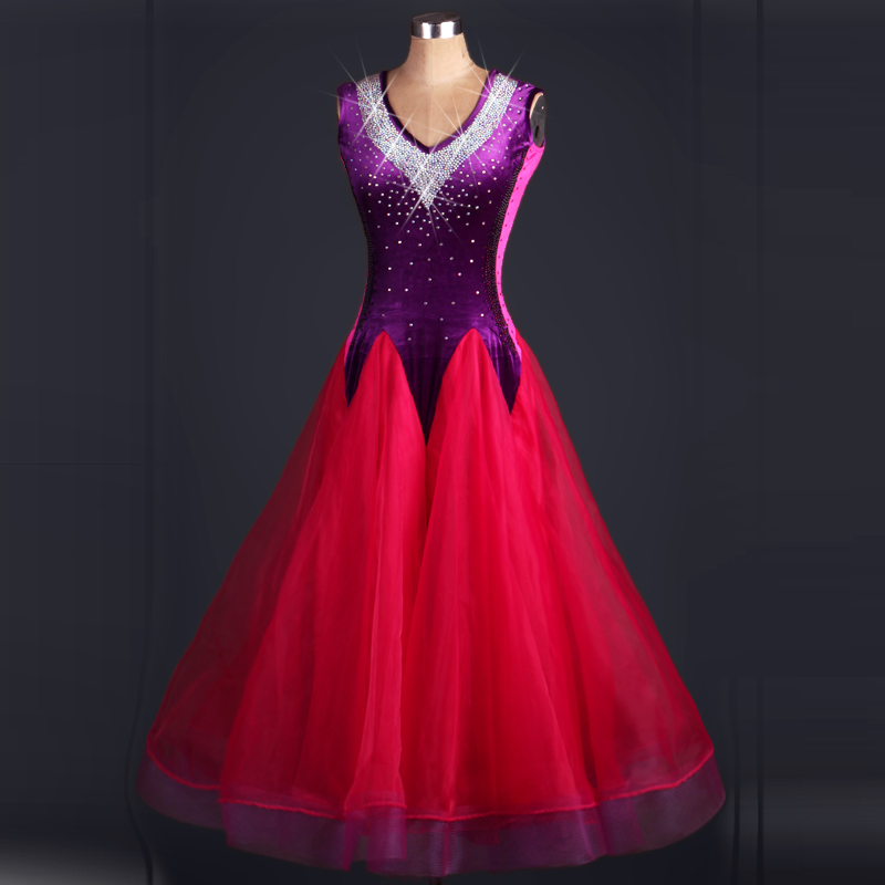 the new waltz dresses 2018 ballroom dress abiti ballo standard donna ballroom dance competition dresses the ballroom